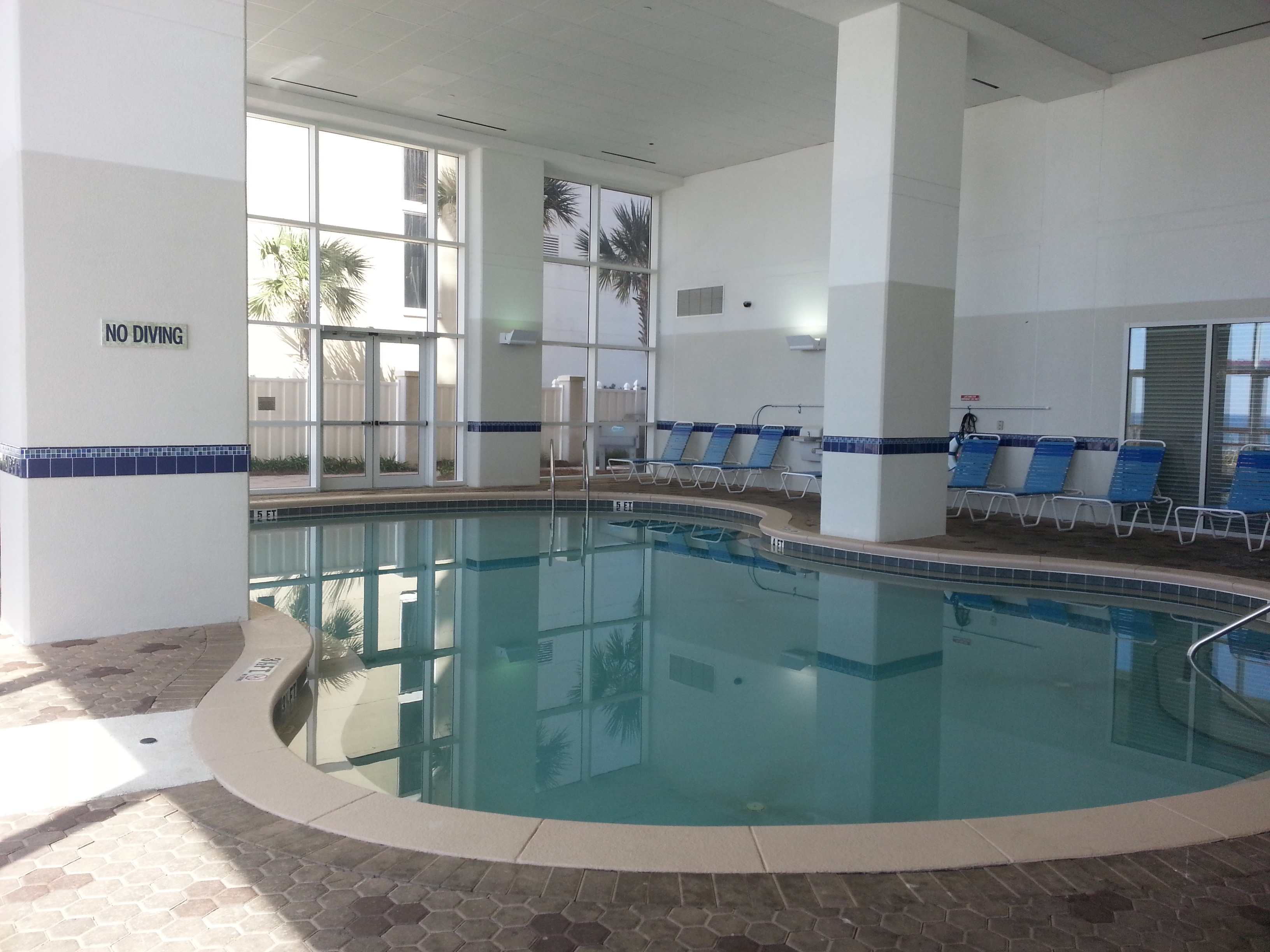 Tower 2 Indoor Pool